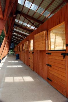 Horse riding stable, Chile