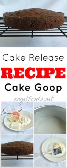 Easy recipe to release cake from tin, using cake goop. What is Cake Goop?Cake Goop is a way to get cakes to release easily, stops cakes sticking from the cake Healthy Cake Recipes, Cupcake Recipes, Cupcake Cakes, Cupcakes, What Is Cake, Cake Works, Cake Business, Business Advice, Basic Cake
