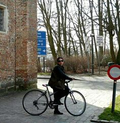 Cycling in Bruges...