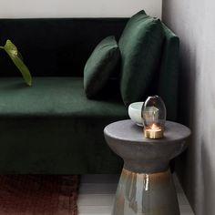 Canapea modulara verde Box Beluga House Doctor