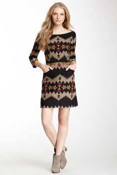 The Portland Collection By Pendleton Tolovana Wool Dress on HauteLook