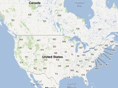 Free Campsites : Interactive Map For Free Camping Sites In USA & Canada