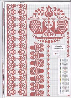 i like the acorn border pattern Cross Stitch Sampler Patterns, Cross Stitch Borders, Cross Stitch Samplers, Cross Stitch Designs, Cross Stitch Bird, Cross Stitch Flowers, Cross Stitching, Folk Embroidery, Cross Stitch Embroidery