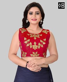 Red Round Neck Women's Stitched Blouse #YOYOFashion Shopping. ✔ Whatsapp Support - +91 8000588688 ✔ COD | ✔ EASY RETURN | ✔ BEST QUALITY |  ✔ FREE SHIPPPING  #blouse #blousedesign #blousebatik #blousedesigners #embroideryblouse #blousedesigns #indianwedding #style #fashion #indianpartywear #womenswear #look #lookbook #stylist #dresses #shopping #shoppingonline #designer #wedding #womenfashion  #indianfashion #bridalwear #desifashion #designerclothes #indianwear #offer #celebstyle Ethnic Gown, Indian Ethnic Wear, Red Fashion, Indian Fashion, Style Fashion, Blouse Batik, Indian Party Wear, Printed Kurti, Red Blouses