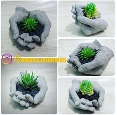 Concrete draping tutorial tests of 8 kinds of different fabrics amp fibres for portland cement dipping to make draped concrete pots or characters – Artofit Hand Planters, Diy Concrete Planters, Cement Art, Concrete Crafts, Concrete Projects, Concrete Garden, Fleurs Diy, Portland Cement, Garden Crafts