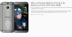 Free HTC One M8 S.H.I.E.L.D exclusive edition to win