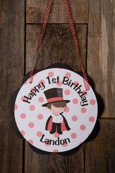 Magician Door Sign Birthday Party