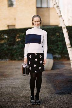 London Fashion Week AW 2014....Daria