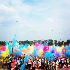 The Color Run - this Sunday.... looking forward to it!!