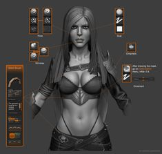 ArtStation - Katarina league of legends - Fan art, Junior Guerhard