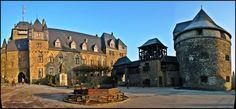 Schloss Burg Castle in Burg an der Wupper, Solingen, Germany - my Funderburk (Von der Burg) ancestry dates back to this castle!