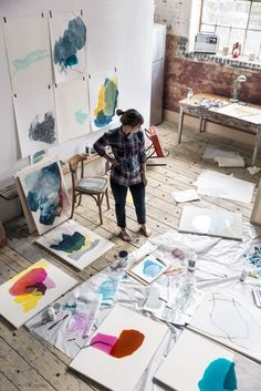 53 Best Artists images in 2019 | Art studios, Artist at work