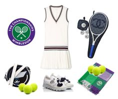 """""""Wimbledon 2017"""" by curlysuebabydoll ❤ liked on Polyvore featuring Chanel and RAS"""