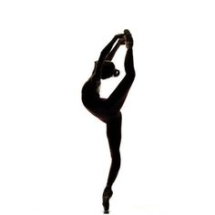Silhouette (Dancers are the athletes of God)