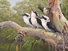 kookaburra in art - Google Search