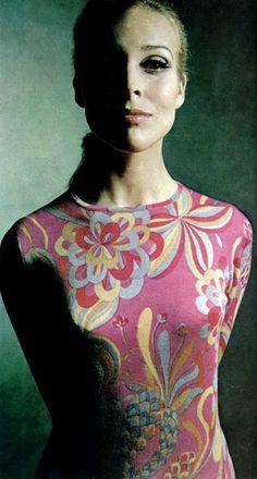 Jeanne Lanvin L'Officiel magazine 1967