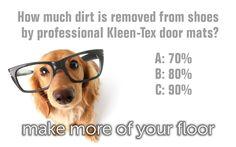 How much dirt is removed from shoes by professional Kleen-Tex door mats?... https://www.kleen-tex.co.uk/products/ #kleentex #makemoreofyourfloor #doormats