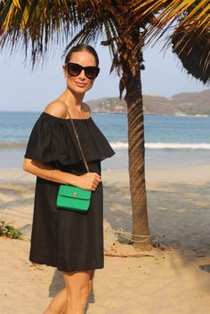 Anine Bing wears her Vintage Chanel Mini Flap bag from Rice and Beans Vintage! www.RIceAndBeansVintage.com   @aninebing