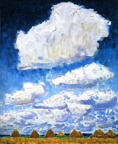 Haystacks (also known as Clouds or Summer) Kees Van Dongen - 1905dahora