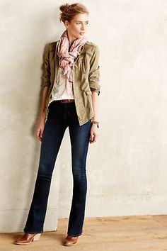 J Brand Remy Bootcut Jeans #anthropologie Bootcut or boyfriend jeans look best on me.