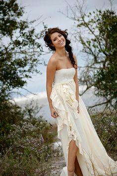 Ruffled Cotton Gauze Destination Beach Wedding By Whiteromance