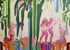 "Saatchi Art: ""Paradise"" Painting by Maxim Fomenko"