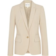 Reiss Maddison One Button Jacket found on Polyvore