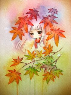 Fall by Juri Ueda -- What a wonderful color scheme. :3
