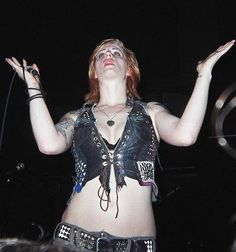 Brody Dalle, The Distillers, Punk Rock Girls, Rock Stars, Sexy, Badass, Belts, Aesthetics, Icons
