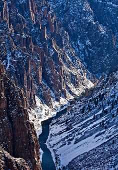 Black Canyon Of The Gunnison National Park Colorado Photo By Stan Rose