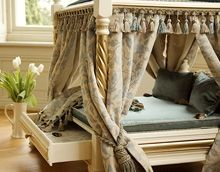 Luxury Versailles Pagoda Pet Bed - Beds, Blankets & Furniture - Furniture Style Beds Posh Puppy Boutique