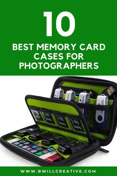 Looking for a safe place to store your memory cards? Use this guide to find the most affordable and functional sd card organizers for micro SD, SD, and CF cards! A must have photography accessory for any photographer. #MemoryCard #PhotographyTips #PhotographyAccessories Photography Basics, Photography Tips For Beginners, Photography Equipment, Pelican Case, Drive Storage, Card Storage, Photography Accessories, Safe Place, Camera Gear