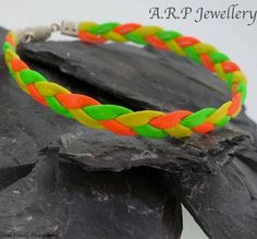 #bracelets #leatherbracelet #leather #surfer #festival #bright #vibrant #yellow #orange #green #party #colourful #colours #etsy #etsysellers #etsyjewellery #jewelleryonetsy #CRAFTfest #craftbiz #CraftBuzz #handmadehour #handmade #handmadejewellery #handmadeforum #modern #partyjewellery #contemporary #modern #decorative #comfortable #comfy