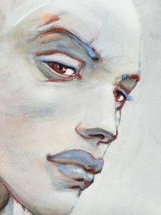 """Detail - Enki Bilal • """"Les 3 Soeurs"""" Estampe pigmentaire edition limitée"""