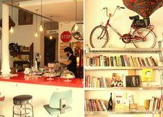 La Infinito: café, libros, arte. Calle de los Tres Peces 22, Madrid ~ http://madridyyo.com/2012/09/21/la-infinito/ #madrid