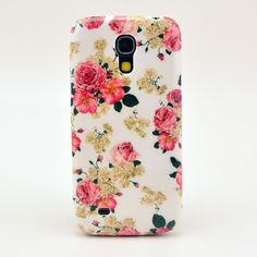Hard Case For Samsung Galaxy S4 Mini i9190 Back Cover Nice Flower Design Cell Phone Cases Free Shipping-in Phone Bags  Cases from Electronics on Aliexpress.com