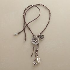 macrame and silver