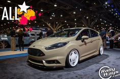 All Star 2014 Ford Fiesta ST SEMA 2014 Build - Click to read all the details! #rallyways #fordfiestast #fiestast