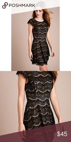 Date night lace black dress . Altar'd State Dresses