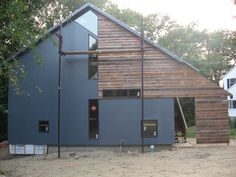 modern barn home nearing completion — LiveModern: Your Best Modern Home