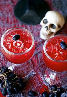 Vampire Inspired Cocktail   - 16 Spooky Halloween Cocktails
