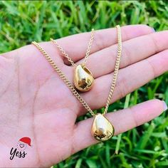 Nice Jewelry, Lima, Gold Necklace, Stud Earrings, Necklaces, Jewels, Limes, Gold Pendant Necklace