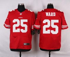 8c037f8e197 Men 25 Jimmie Ward Jersey Football San Francisco 49ers Jersey. Red TeamSan  Francisco 49ersScarletNike NflCheap ...