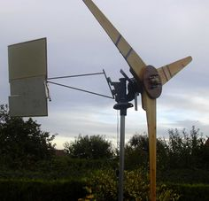 How to Build a Wind Generator with a Car Alternator