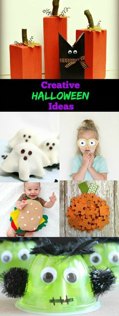 Get the whole family ready for the best holiday of the year with these creative Halloween ideas, which range from fun costumes to yummy snacks and spooky decor that are sure to raise the excitement in your home!