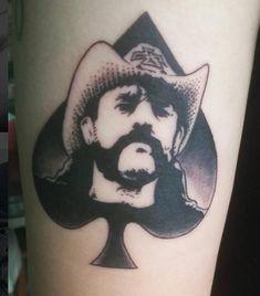 Lemmy Kilmister Tattoo Fan Tattoo, Tattoo Band, Rock Tattoo, Metal Tattoo, Body Art Tattoos, Lemmy Kilmister, Lemmy Motorhead, Misfits Tattoo, Pantera Band