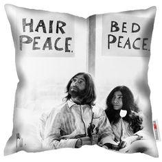 Coussin Mirrorpix John & Yoko