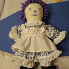 """Muslin Doll Body MY LITTLE ONE One /& Only Creations 22/"""" Rag doll presewn unstuff"""