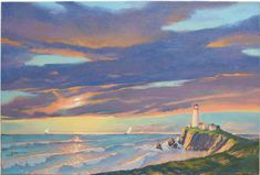 "Joni Eareckson Tada's Art, ""The Lighthouse"""