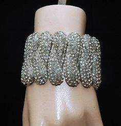 Wedding Bracelet Bridal Bracelet Art Deco by AyansiWeddingDesigns